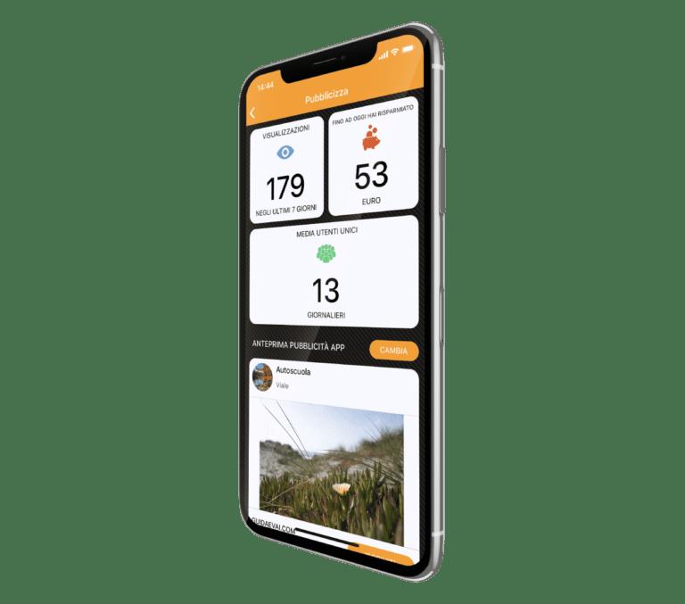 Schermata Pubblicizza Everest Guida e Vai
