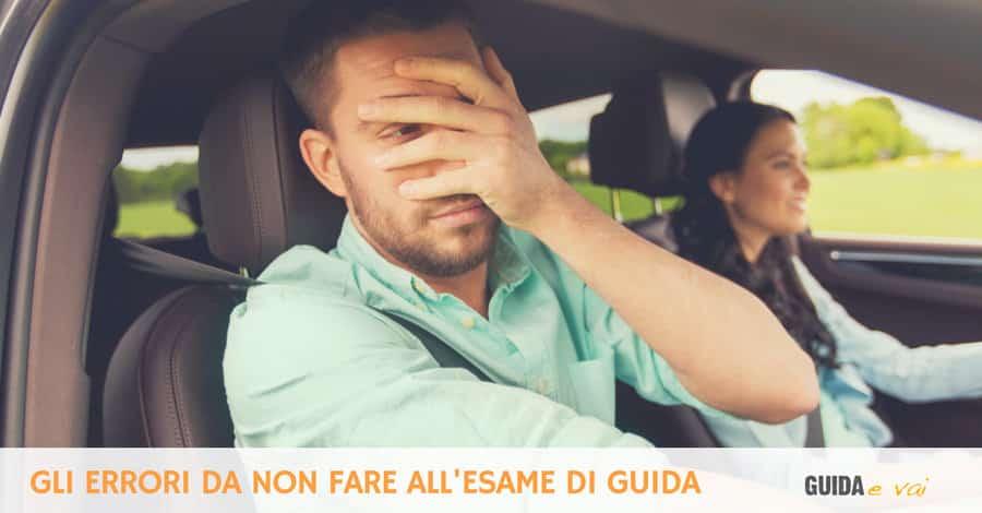 Esame di guida senza errori
