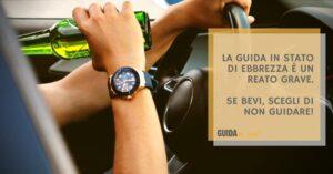 Guida in stato di ebbrezza: revoca della patente, sanzioni e punti decurtati