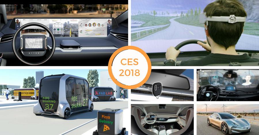 Tutte le novità Auto High Tech proposte al CES 2018