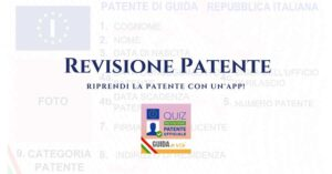 Quiz Revisione Patente BETA: riprendi la patente con un click!