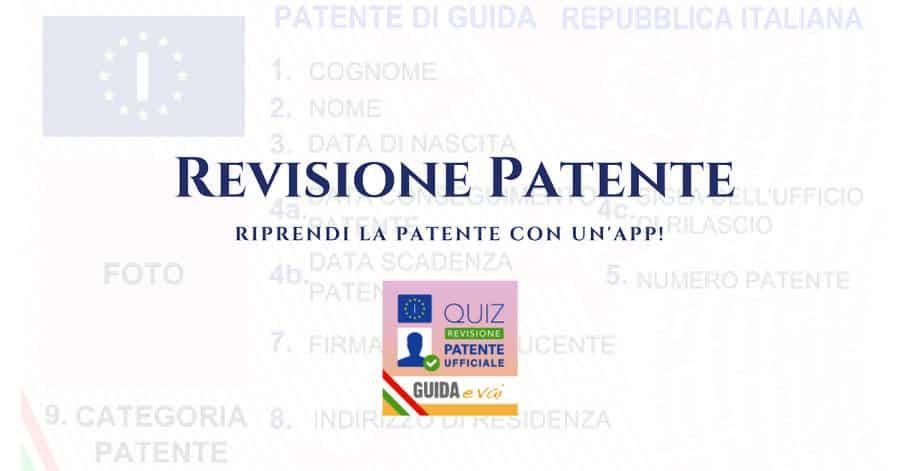 Quiz Revisione Patente BETA: riprendi la patente con un click!