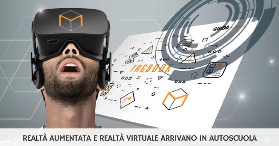 Guida e Vai porta realtà aumenta e realtà virtuale nelle autoscuole
