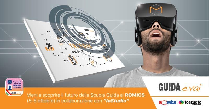 """Guida e Vai al """"Romics"""" in collaborazione con IoStudio"""