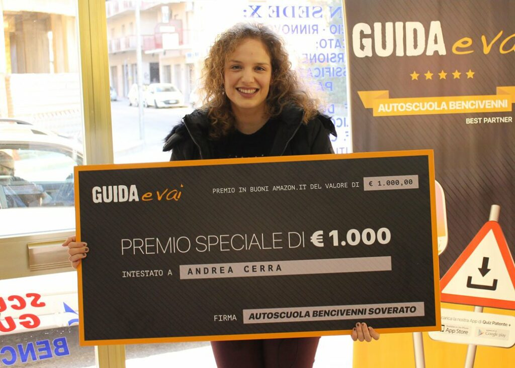 Premio Concorso Guida, Vinci e Vai