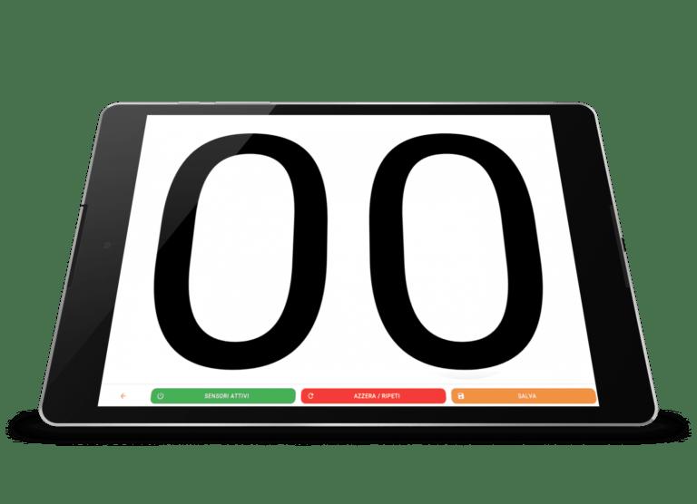 CronoFrame cronometro automatico moto 8