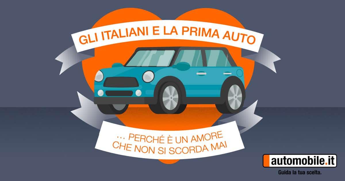 Italiani e prima auto: tutto ciò quello che c'è da sapere