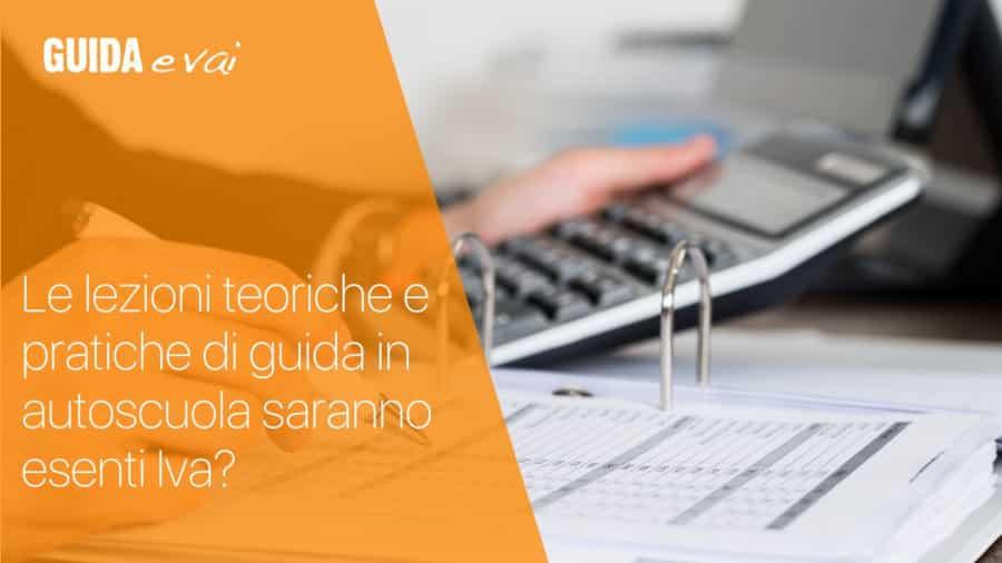 Lezioni scuola guida sono esenti da IVA? Risponde l'esperto